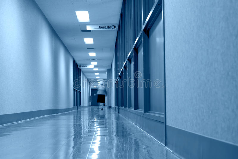 прихожая клиники стоковые изображения rf