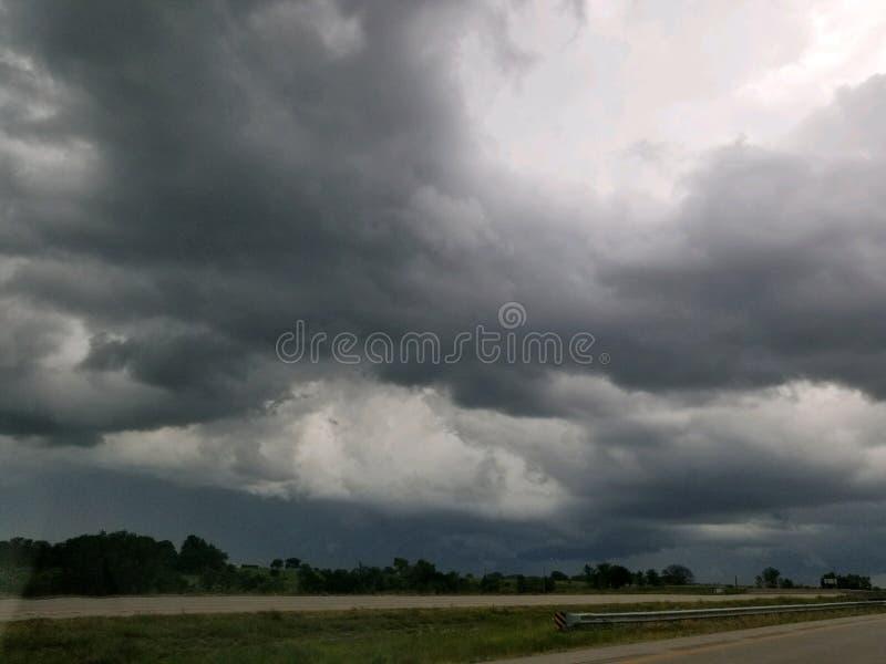 Приходить штормов стоковое фото rf