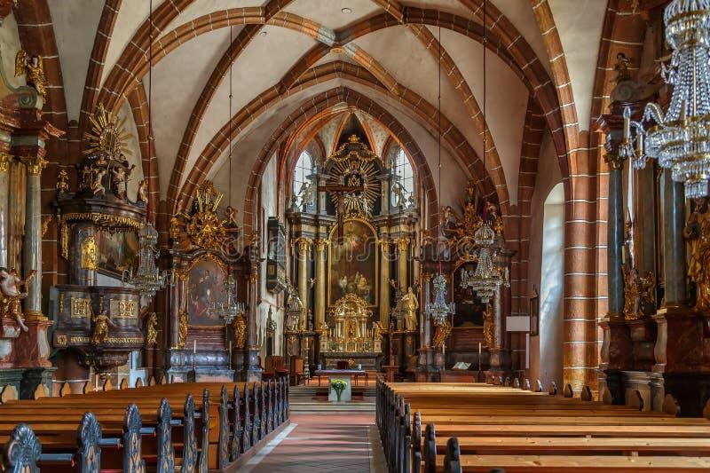 Приходская церковь, Bruck Mur der, Австрия стоковая фотография rf