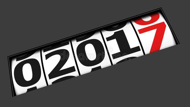 приходя Новый Год стоковые фотографии rf
