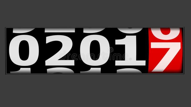 приходя Новый Год стоковое изображение rf