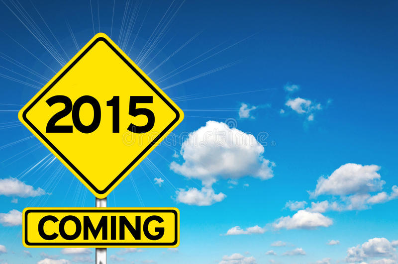 2015 приходя стоковые фото