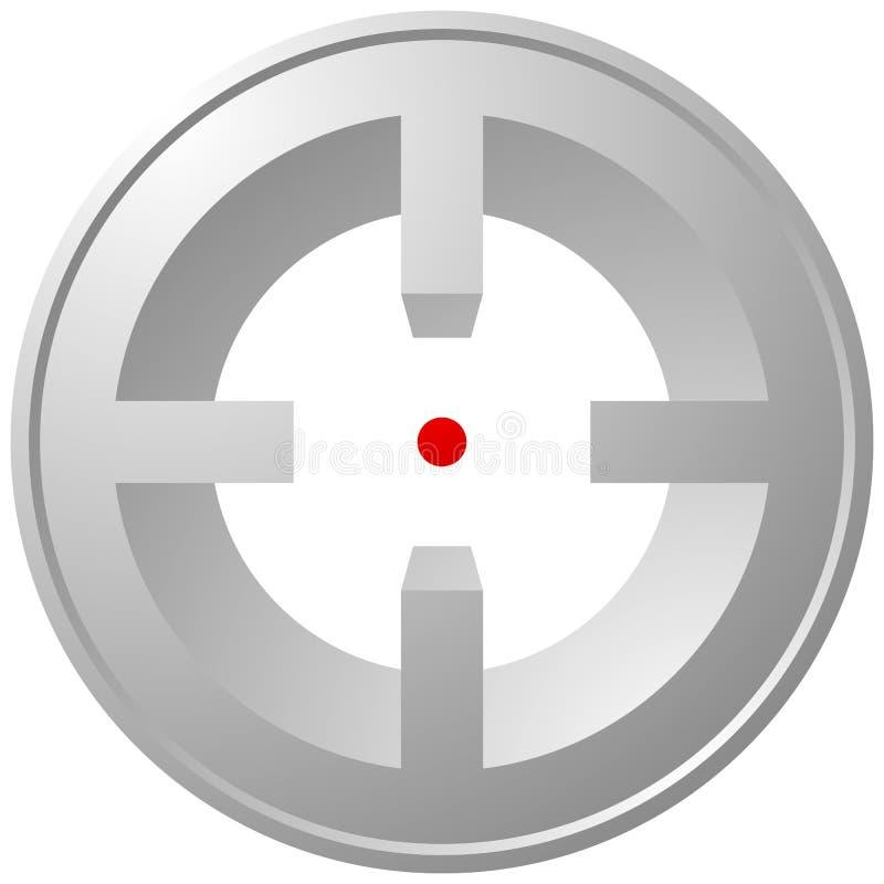 Download Прицельтесь метка, перекрещение, значок перекрестия для фокуса, точности, цели Иллюстрация вектора - иллюстрации насчитывающей точно, точность: 81811832