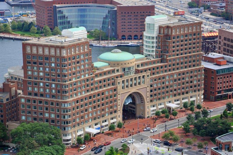 причал США rowes boston стоковые фотографии rf