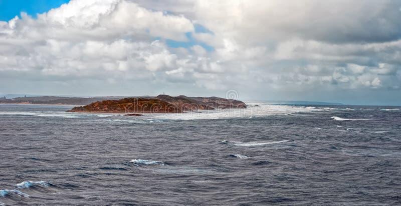 Причаливая король Остров шторма стоковое изображение rf