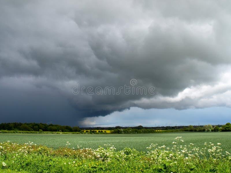 причаливая шторм стоковое изображение