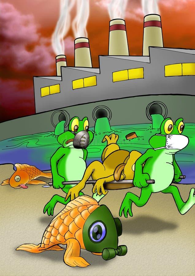причиненное повреждение относящое к окружающей среде глобальное потепление бесплатная иллюстрация