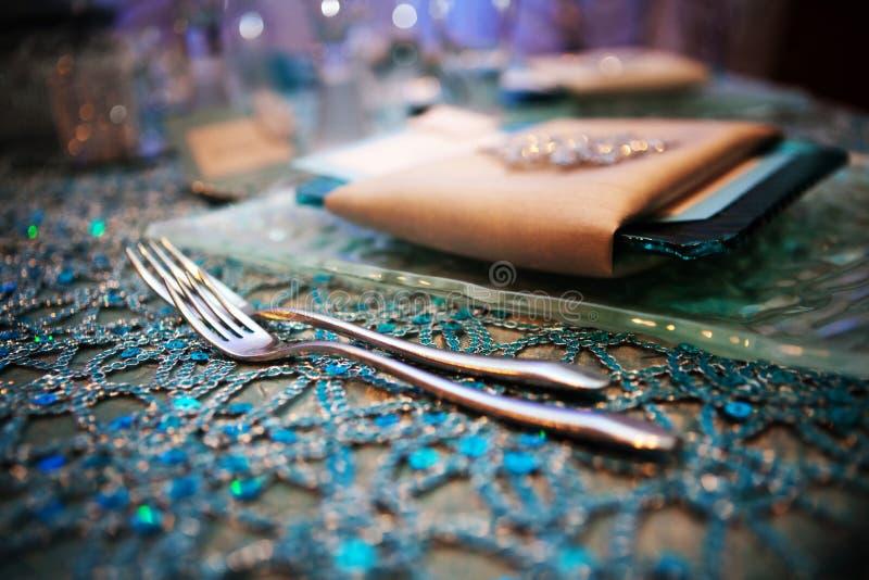 причудливое венчание tabletop стоковая фотография rf