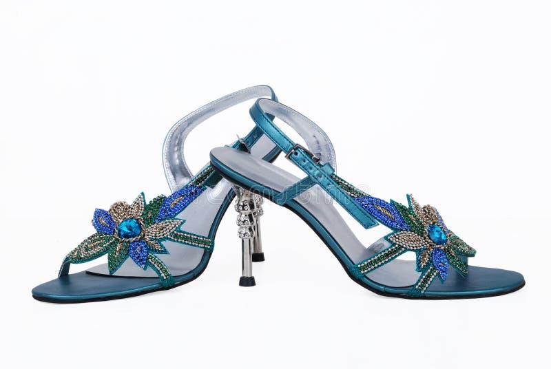 причудливые ботинки повелительниц стоковое изображение