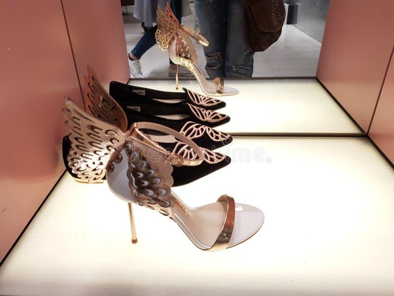 причудливые ботинки стоковые фотографии rf