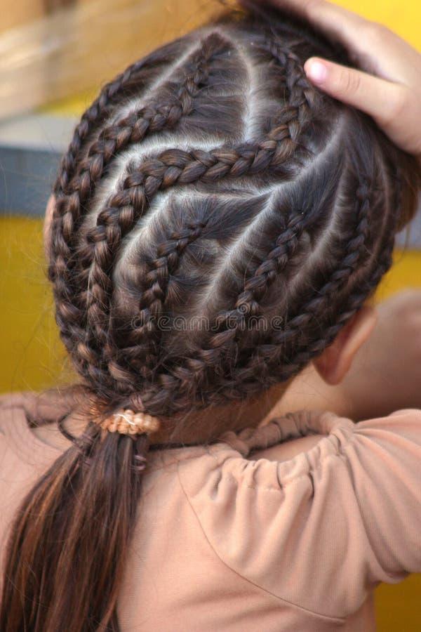 причудливые волосы Стоковое фото RF