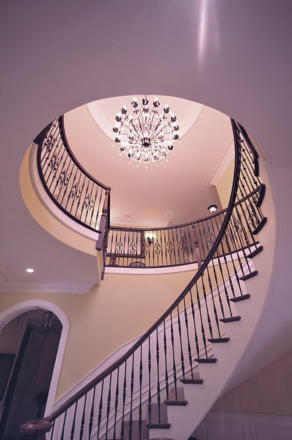 Причудливые лестницы стоковое изображение