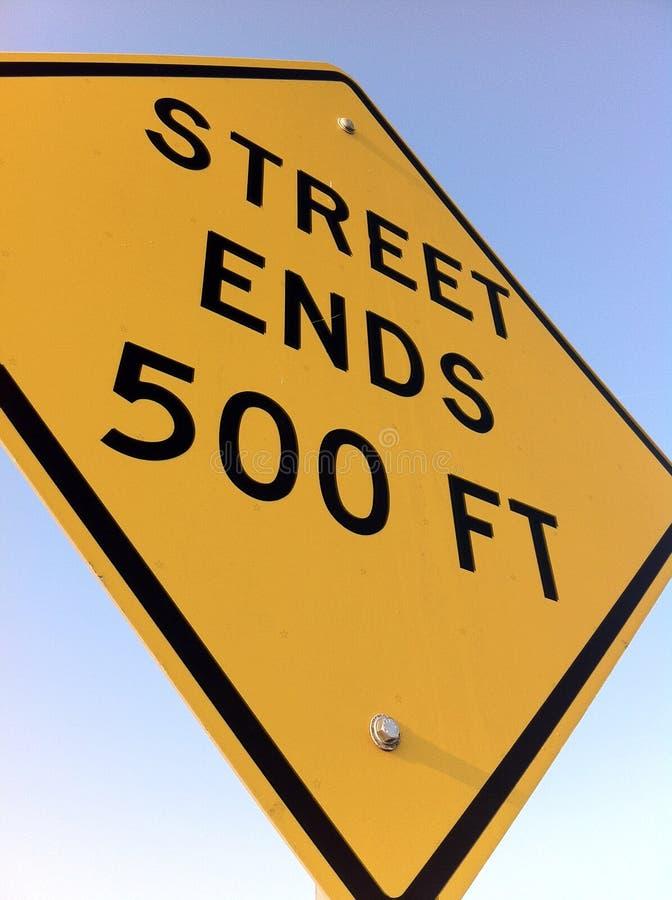 Знак улицы стоковое фото rf