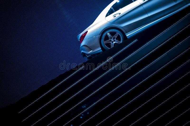 Причудливый автомобиль стоковая фотография