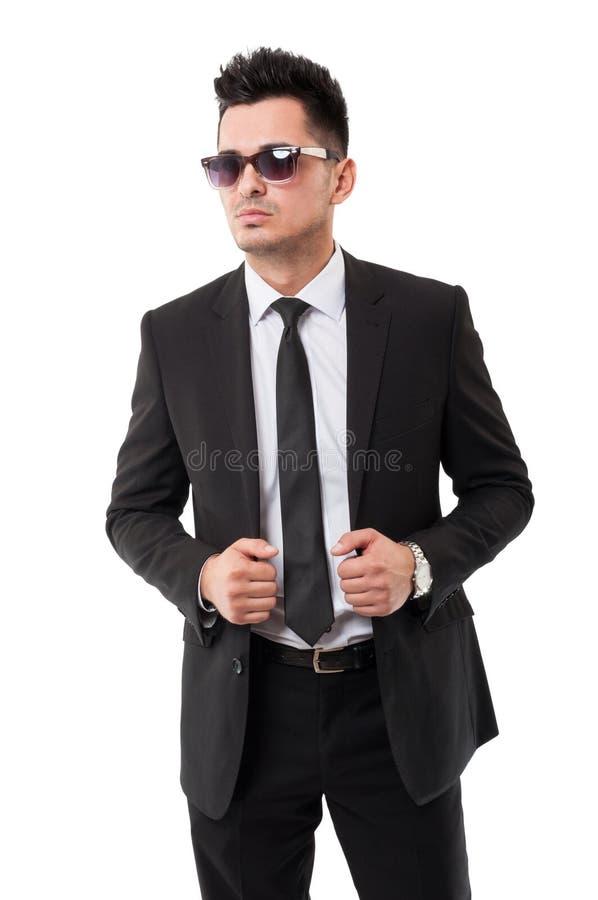 Причудливый бизнесмен стоковые изображения rf