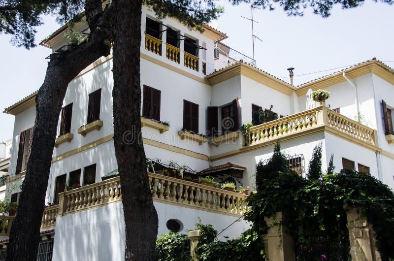 Причудливый дом в Palma Майорки стоковые изображения