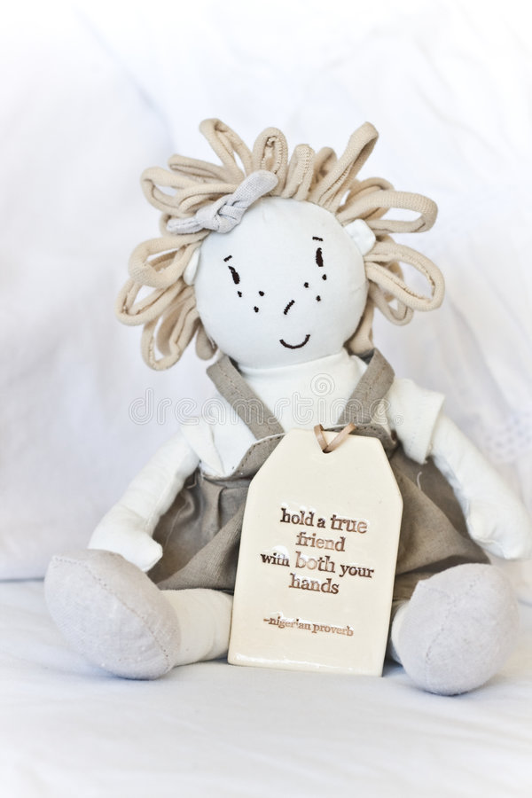 приятельство куклы стоковые изображения