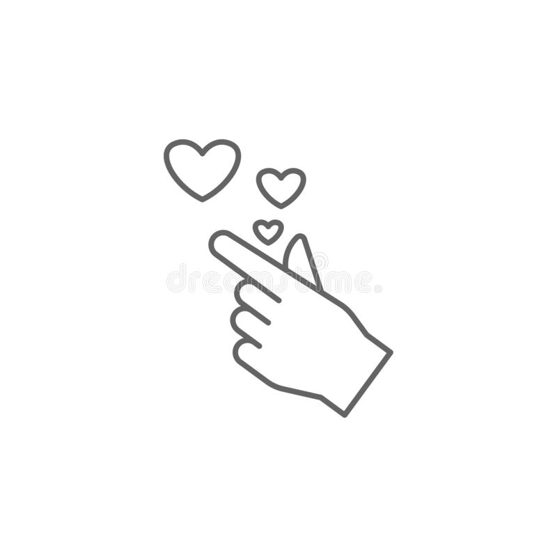 Приятельство, шесток, значок братства Элемент значка приятельства Тонкая линия значок для дизайна вебсайта и развития, приложения иллюстрация вектора