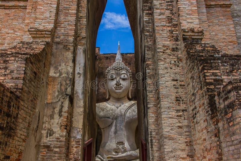 Приятель Sukhothai Таиланд Wat Sri стоковые изображения rf