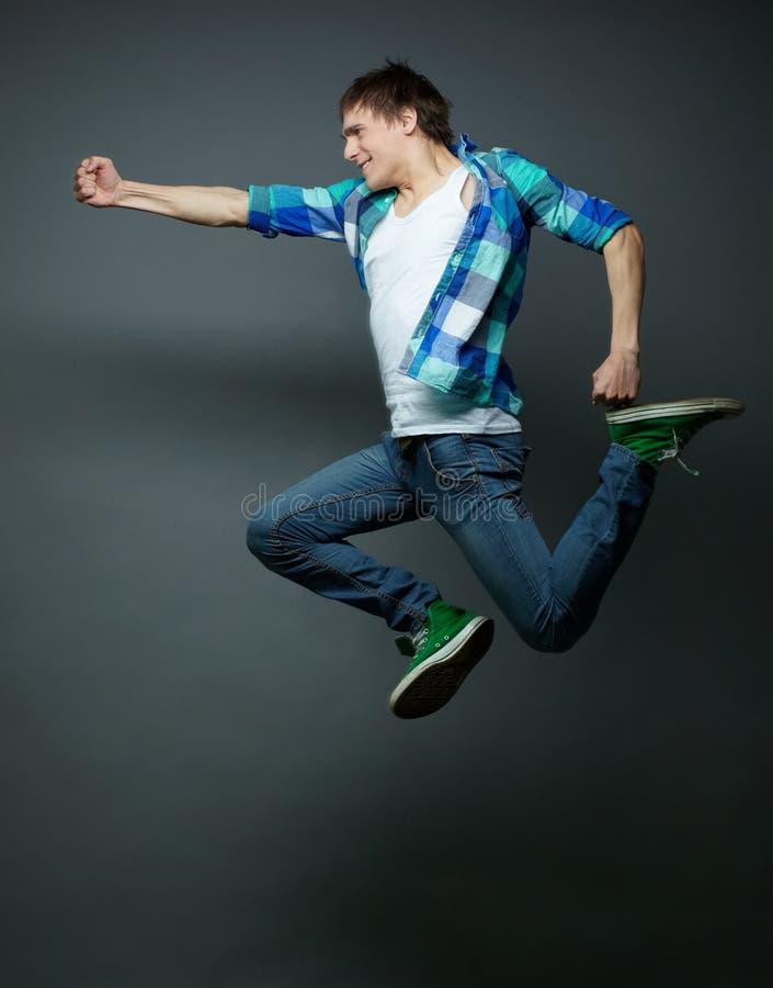 Пробивать в midair стоковое фото rf
