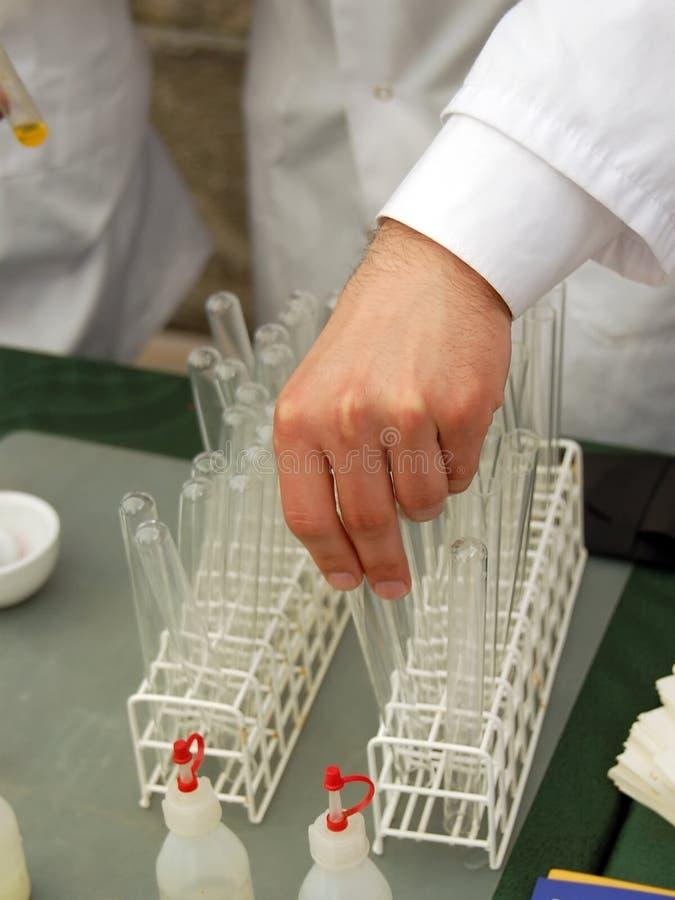 пробирка химика стоковая фотография