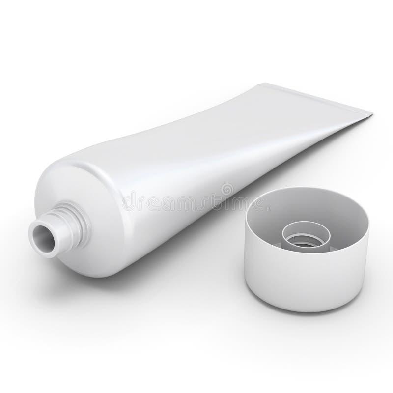 Пробка зубной пасты иллюстрация штока