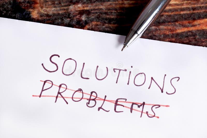 Проблемы и решения стоковая фотография