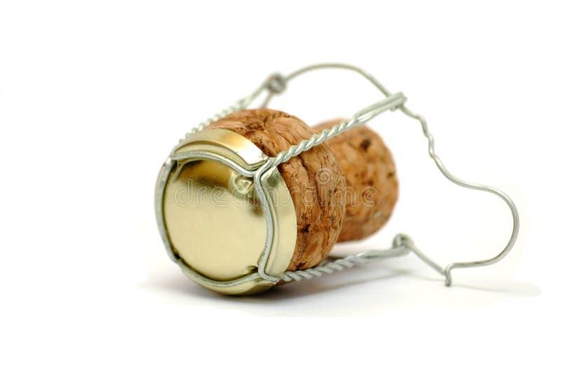 пробочка шампанского стоковое изображение