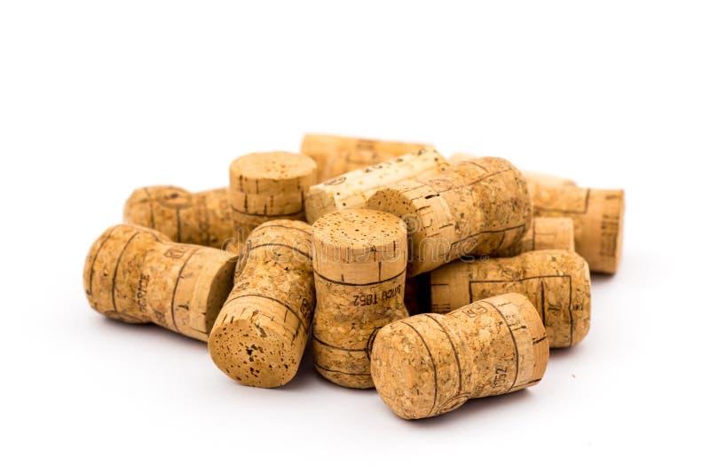 Пробочки бутылки вина стоковое фото rf