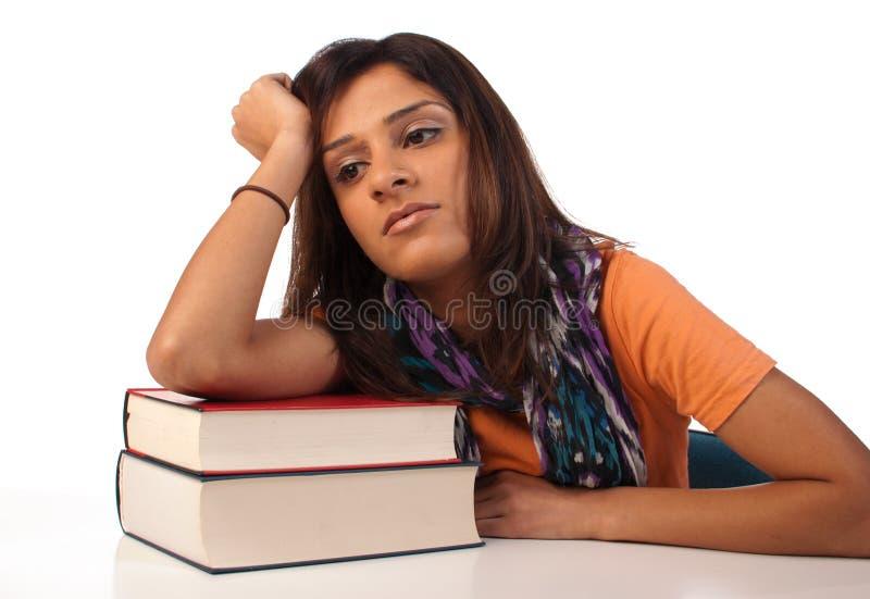 пробуренный студент стоковое фото rf