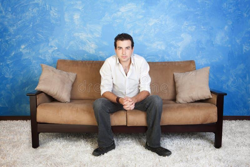 Пробуренный человек стоковая фотография rf