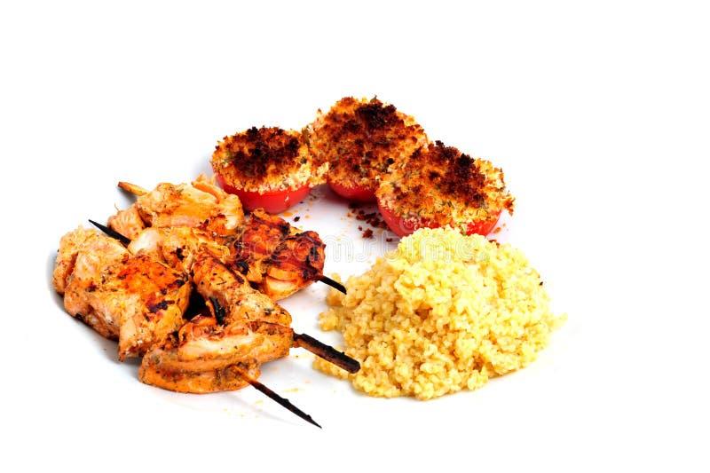 Провансальская еда стоковое изображение rf