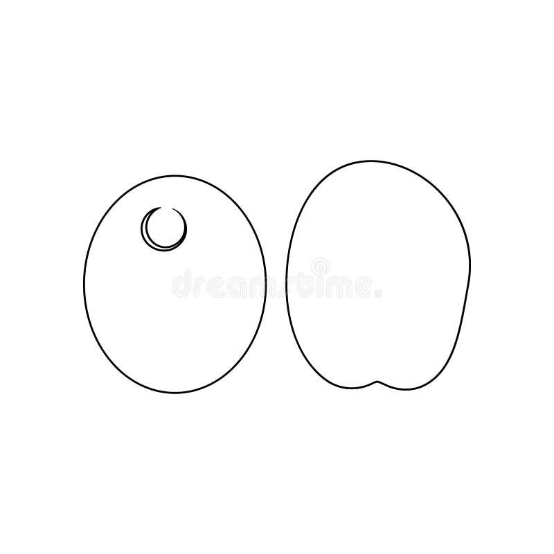 Прованская икона Элемент гаек для мобильных концепции и значка приложений сети r бесплатная иллюстрация