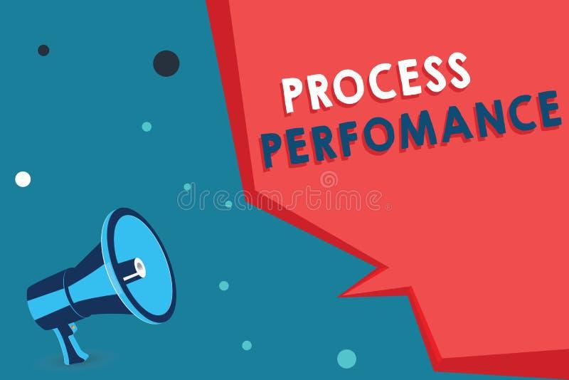 Проведение процесса текста сочинительства слова Концепция дела для процесса измерений эффектно соотвествует задаче организаций иллюстрация вектора