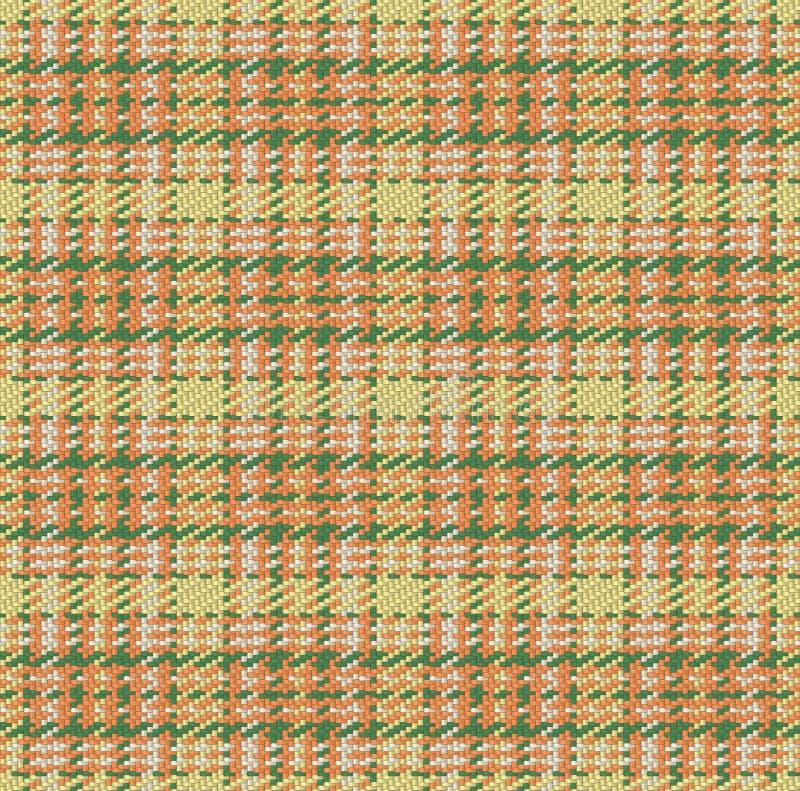 Проверенная материальная предпосылка ткани картины, тартана и шотландки, безшовный вектор иллюстрация штока
