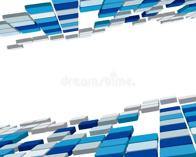 проверенная предпосылка 3d иллюстрация штока