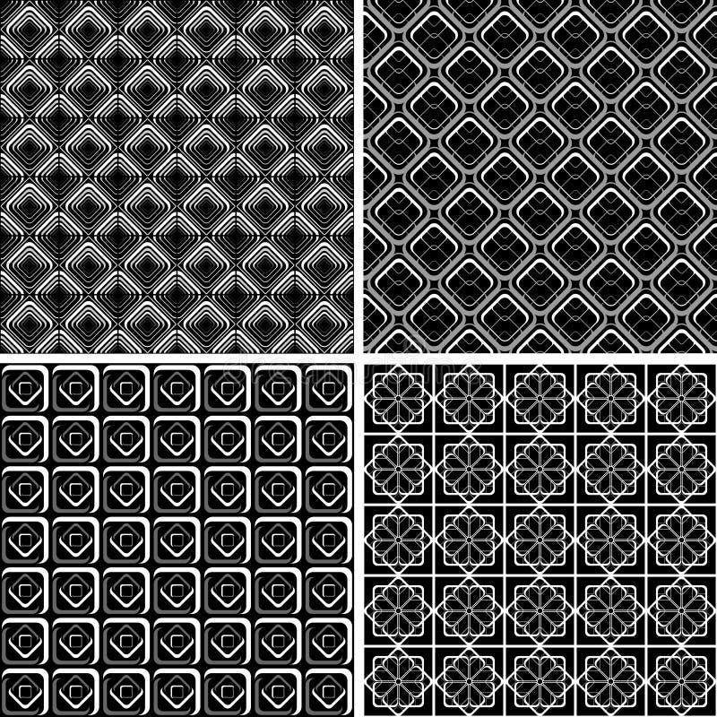 проверенный комплект конструкций безшовный иллюстрация вектора
