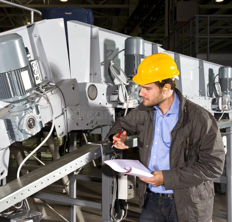 проверите оборудование промышленное стоковые фото