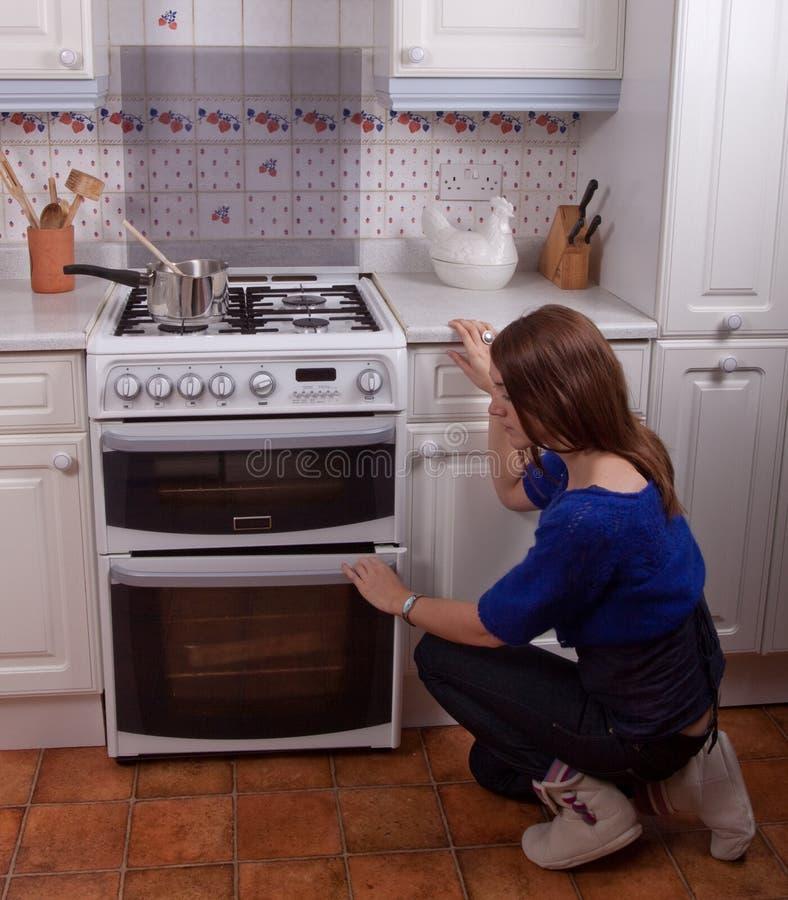 проверите печь стоковая фотография