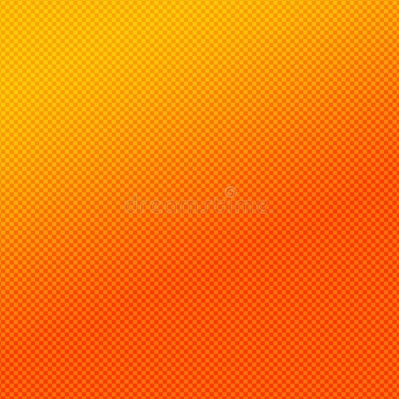 проверите померанцовую картину иллюстрация вектора