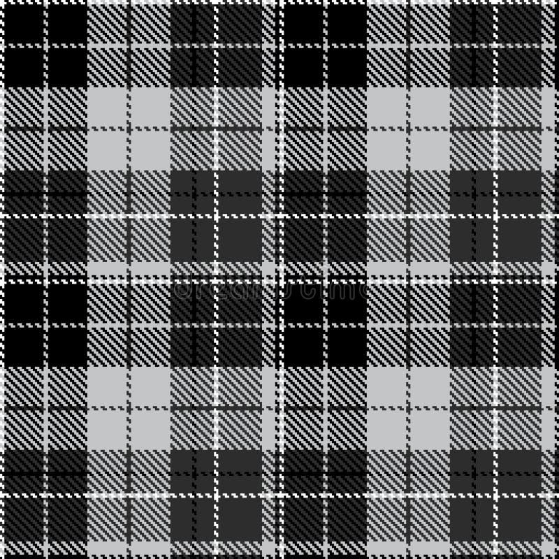 Проверите черное серое textil ткани стоковые фото
