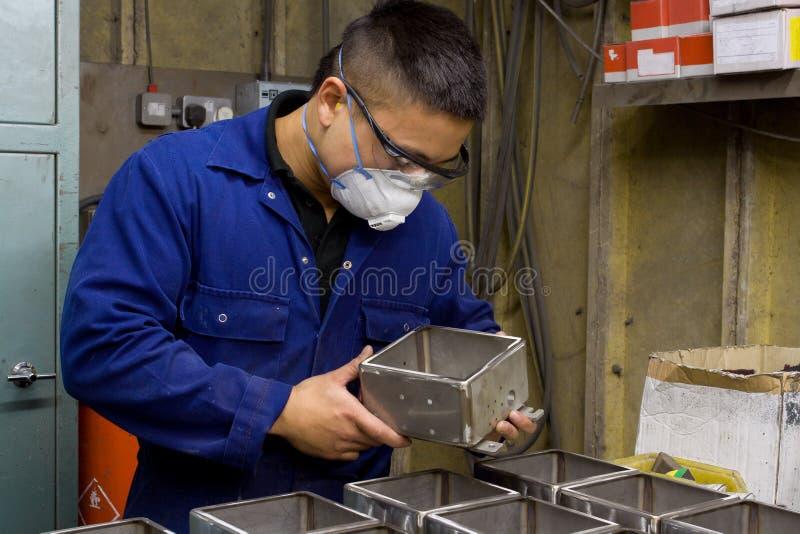 проверять качество управления стоковая фотография rf