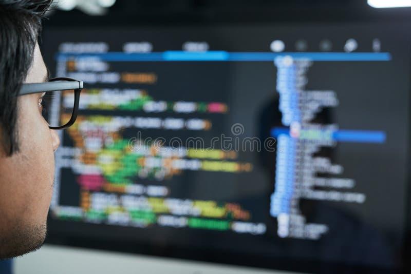 Проверять код стоковая фотография rf