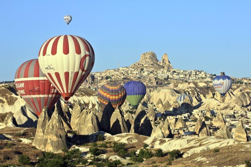 проветрите ballons горячие стоковое фото rf