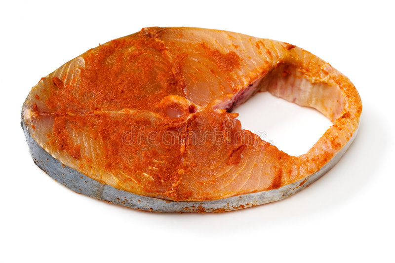 провидец marinated рыбами стоковое изображение