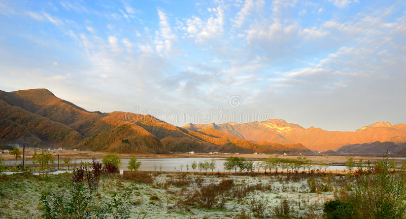 Провинция Китая Хубэй, ландшафт Shennongjia стоковые изображения rf