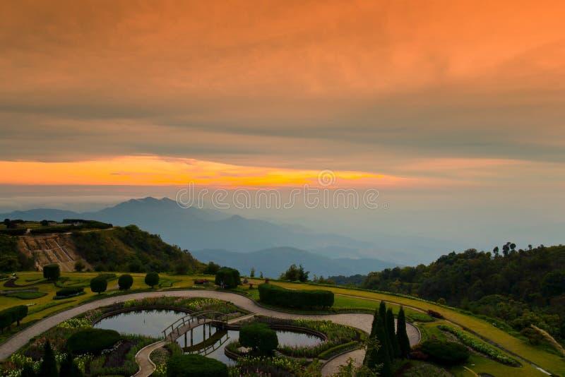 провинция национального парка mai inthanon doi chiang стоковая фотография