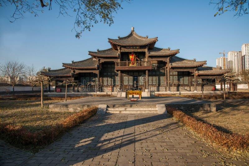 Провинция Dingzhou, Хэбэя, юань гонга стоковые изображения rf