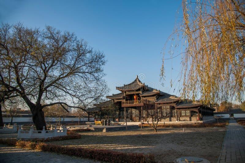 Провинция Dingzhou, Хэбэя, юань гонга стоковые фото