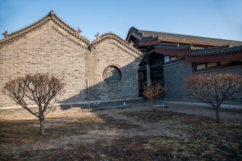 Провинция Dingzhou, Хэбэя, юань гонга стоковое изображение